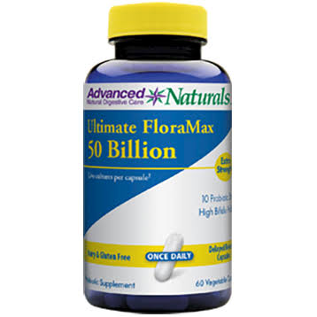 Advanced Naturals Ultimate Floramax 50 Billion Supplement - 60ct