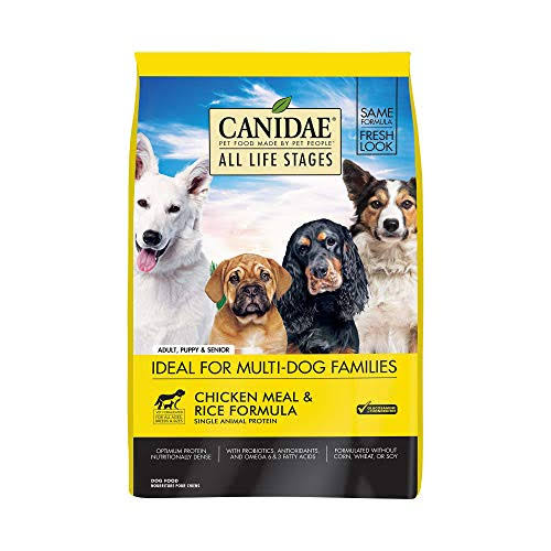 Canidae Dry Dog Food - Chicken Meal and Rice Formula, 5lbs