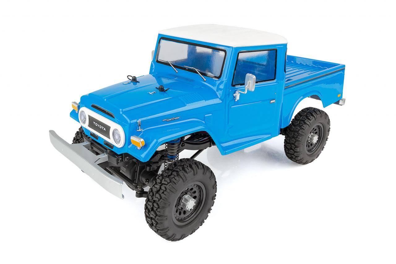 Team Associated Cr12 Toyota Fj45 Pickup Truck - Blue