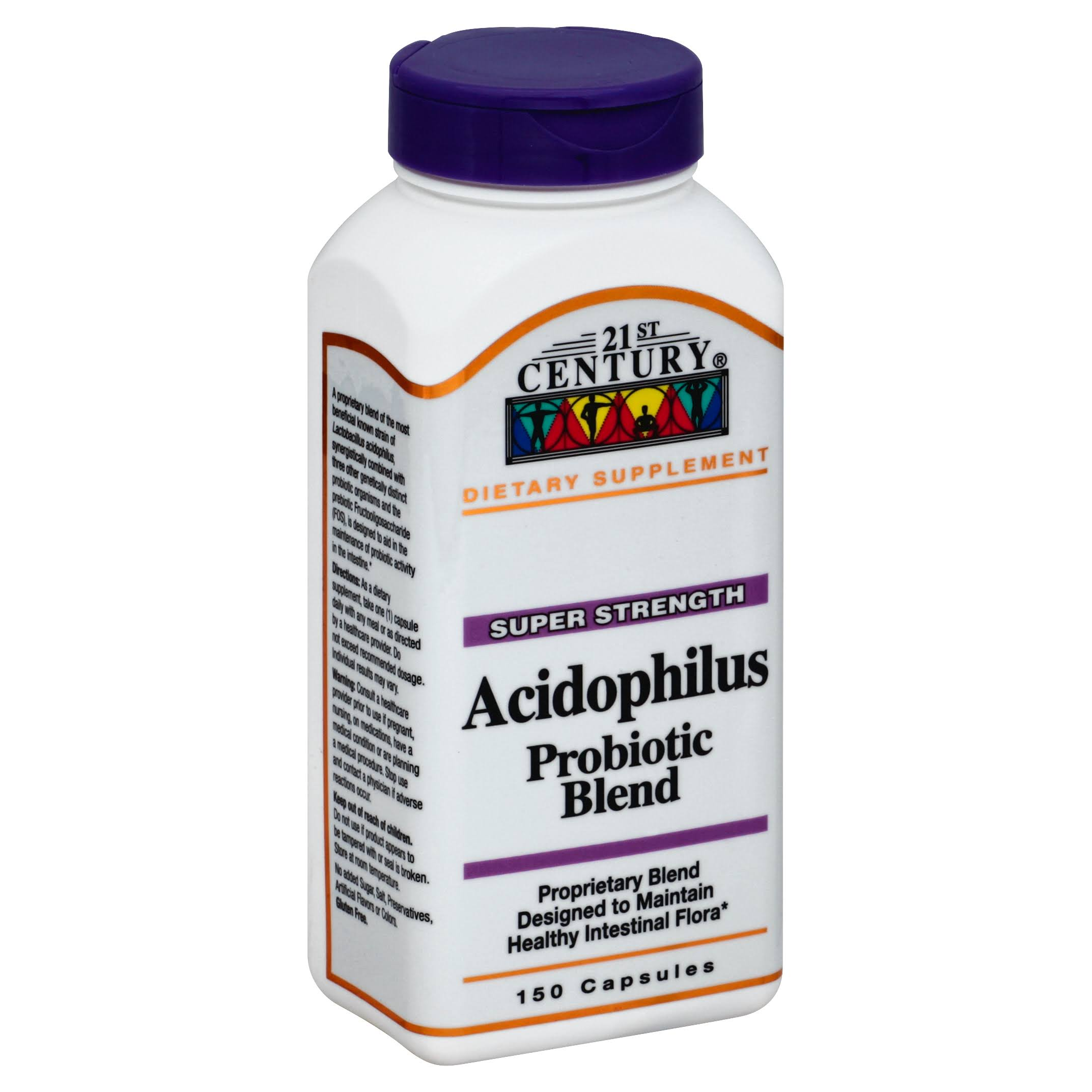 21st Century Acidophilus Probiotic Blend Supplement - 150ct