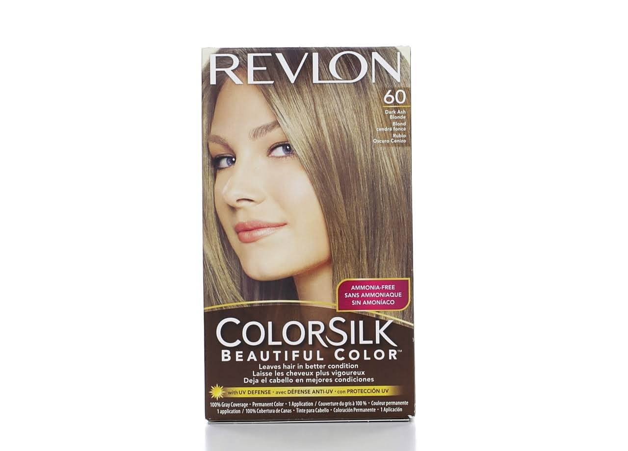 Revlon ColorSilk Beautiful Hair Color - 60 Dark Ash Blonde