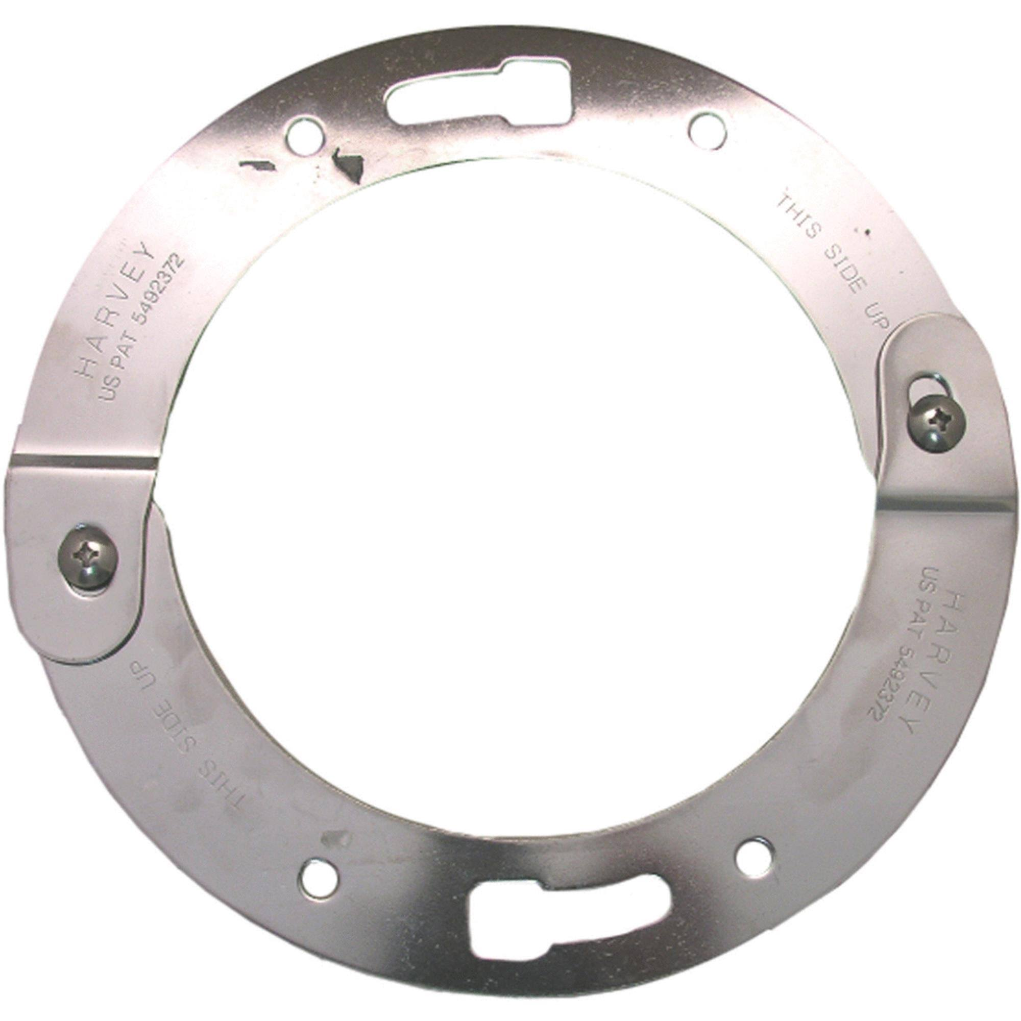 Toilet Flange Harveys Split Ring - Stainless Steel