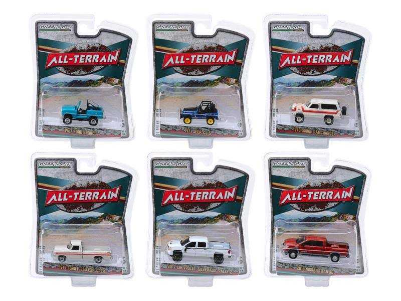 1/64 Scale Greenlight All-Terrain Series 8 1Box 6pcs