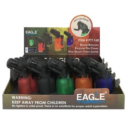 Eagle Torch Lighters Asst Clear Clrs Wholesale, Cheap, Discount, Bulk