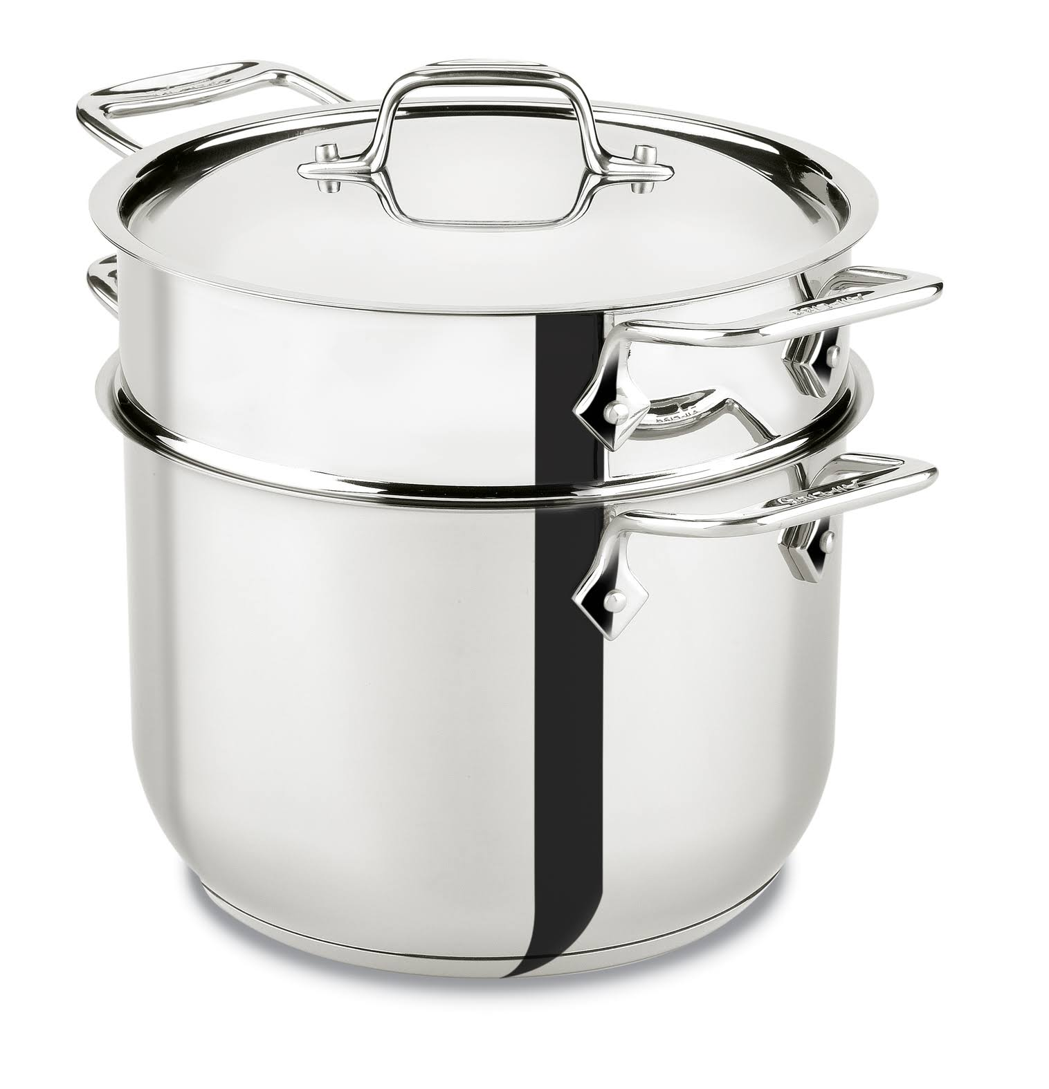 All-Clad Covered Pasta Pot - Stainless Steel