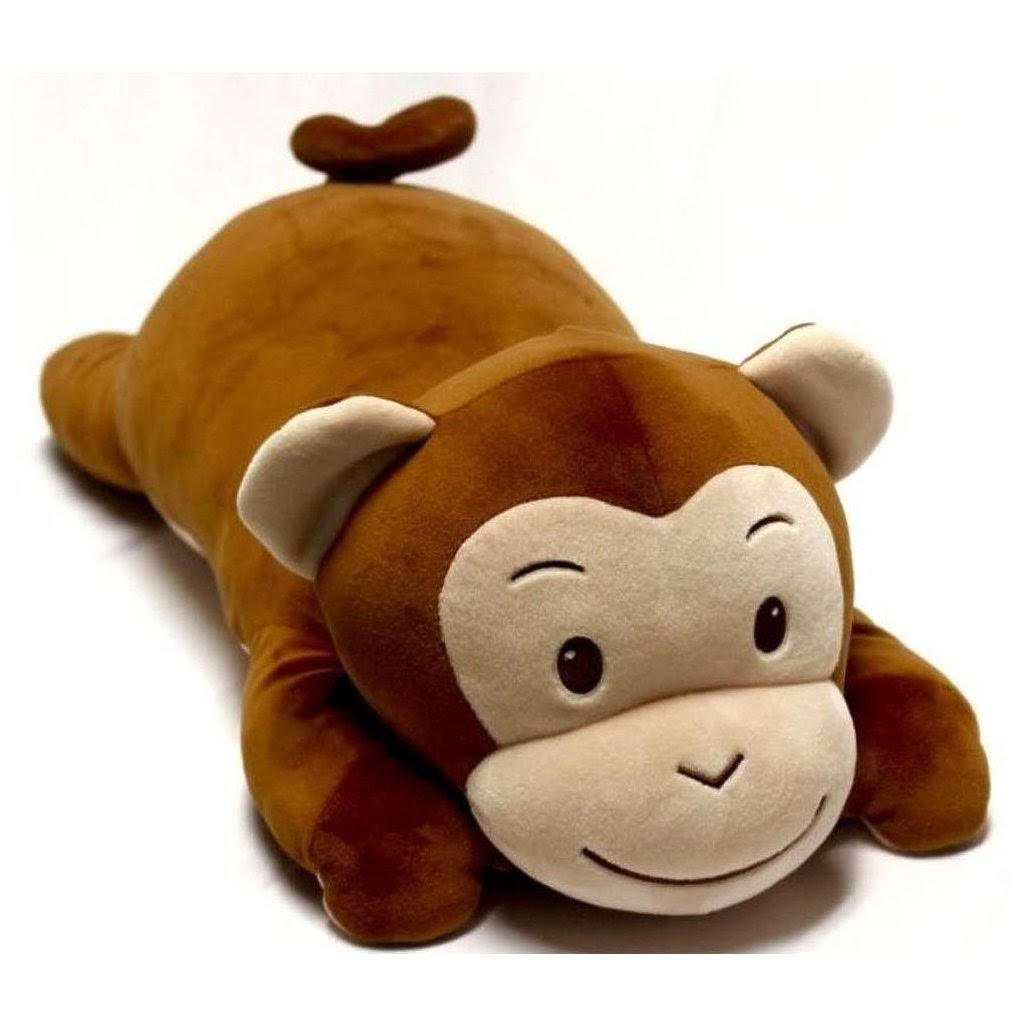 Go! Games Snoozimals Monkey Plush Toy - 20""