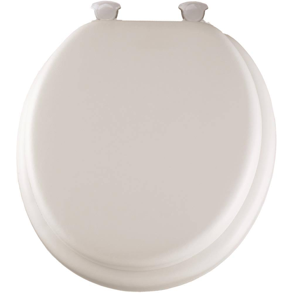 Mayfair Soft Toilet Seat - with Molded Wood Core, White
