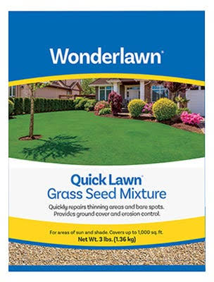 Wonderlawn Quick Lawn Grass Seed Mixture