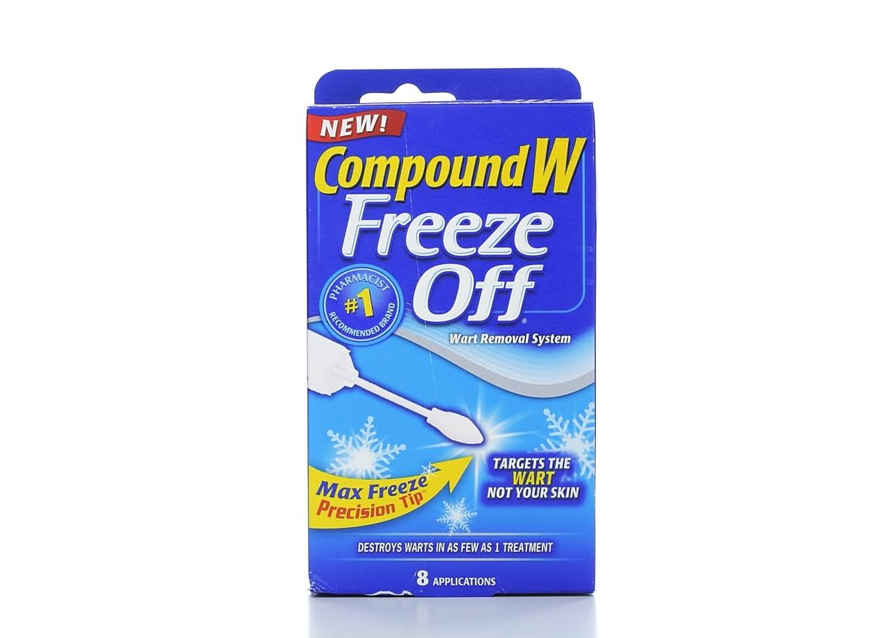 Medtech Compound W Freeze Off Wart Remover - Maximum Freeze, 8 Count