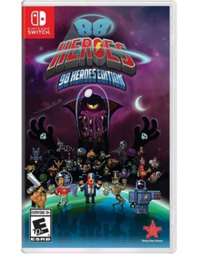Rising Star Games: 98 Heroes Edition - Switch