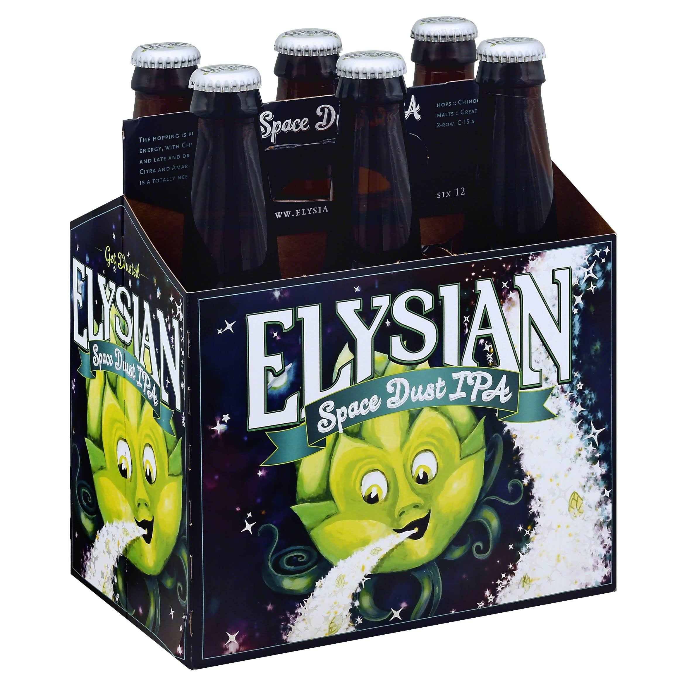 Elysian Beer, IPA, Space Dust - 6 bottles