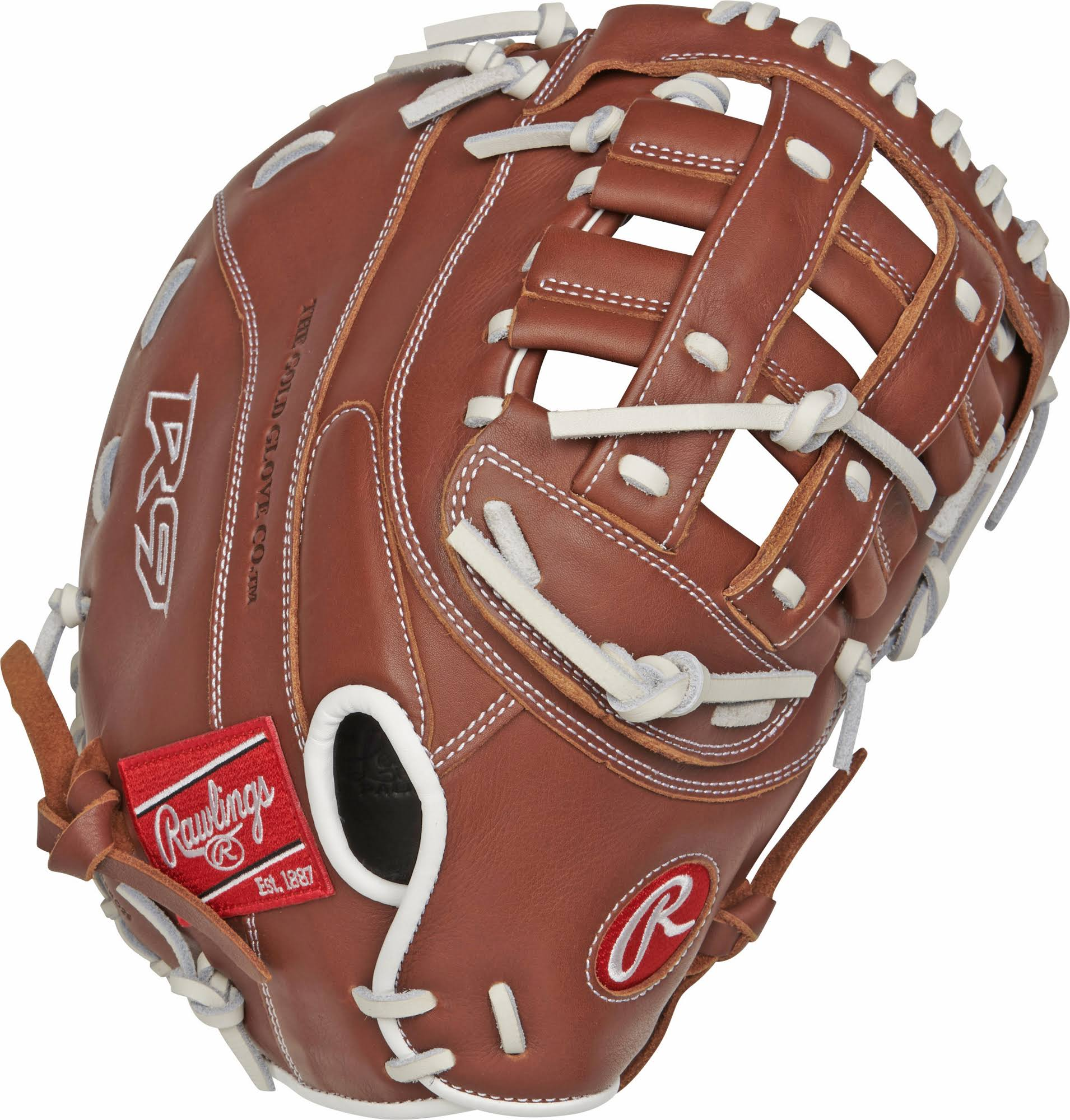"Rawlings R9 Series Softball Mitt - 12.5"", Right Hand"