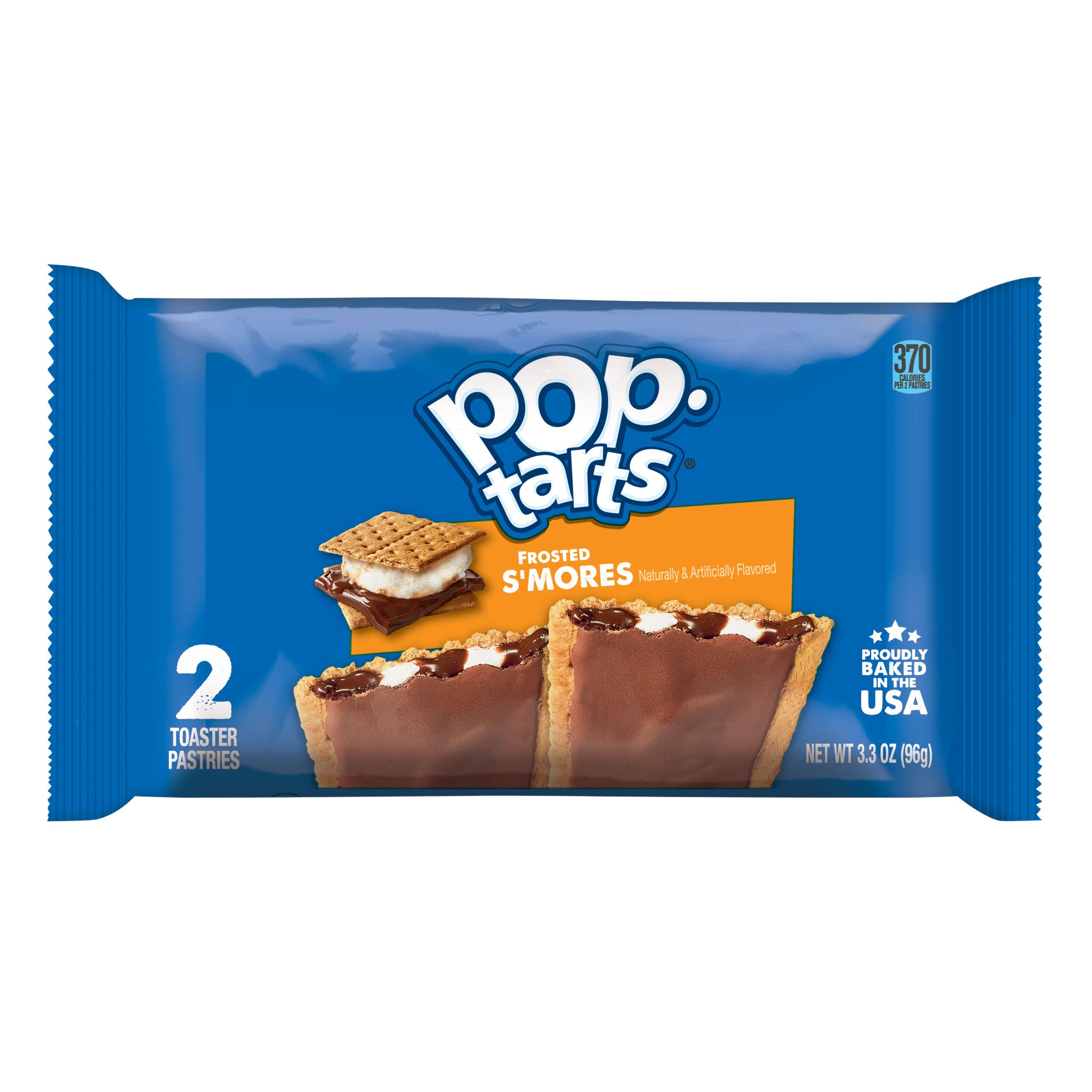 Pop Tarts Toaster Pastries, Frosted S'mores - 2 pastries, 3.67 oz