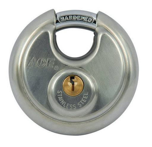Ace Hardware Shielded Steel Padlock - 2-3/4""