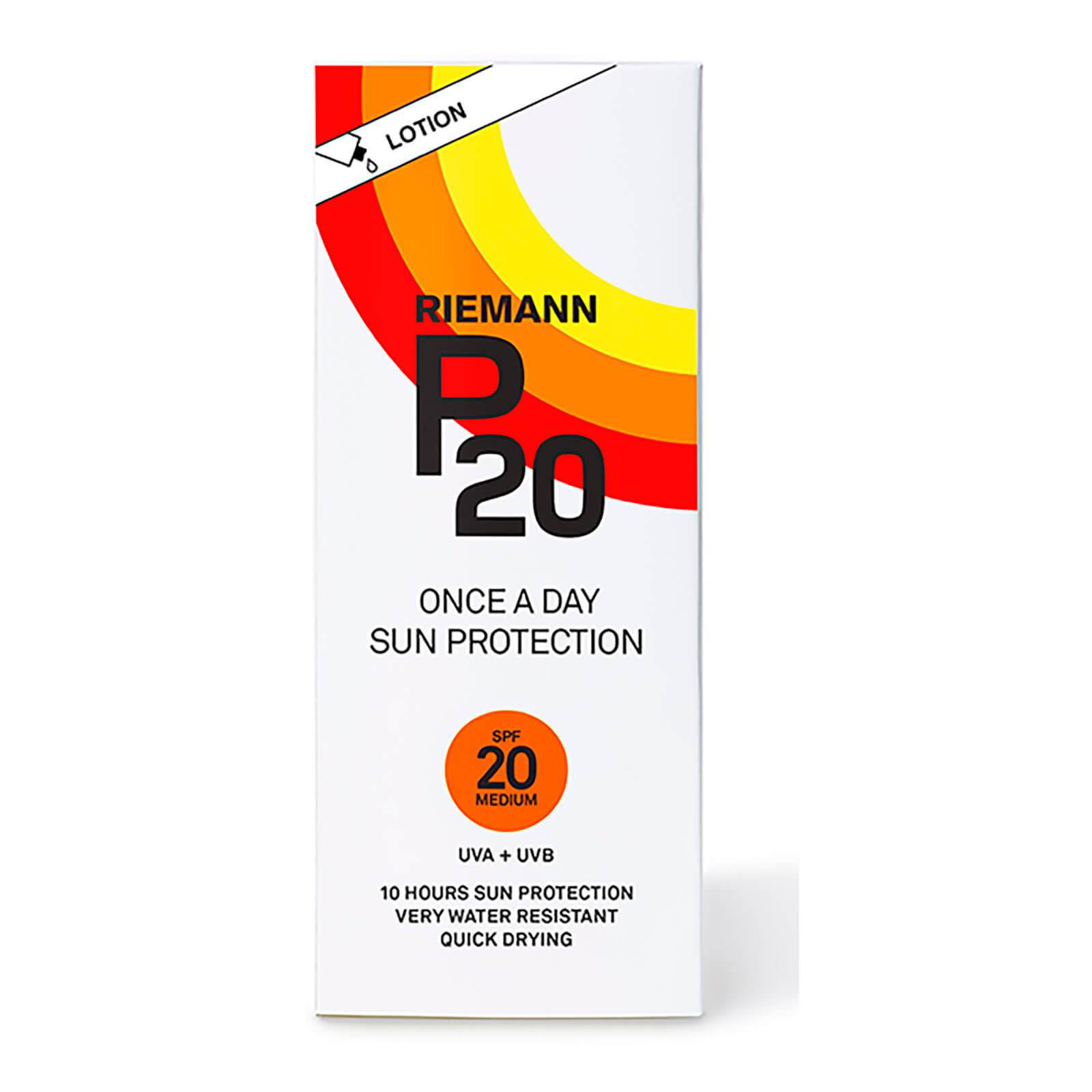 Riemann P20 Once A Day Sun Protection Lotion - 200ml, Spf 20