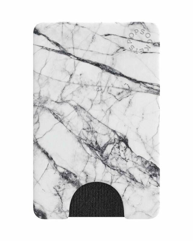 Popsockets Pop Wallets Card Holder - White Marble