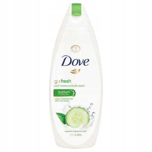 Dove Go Fresh Nourishing Body Wash - Cucumber and Green Tea Scent, 700ml