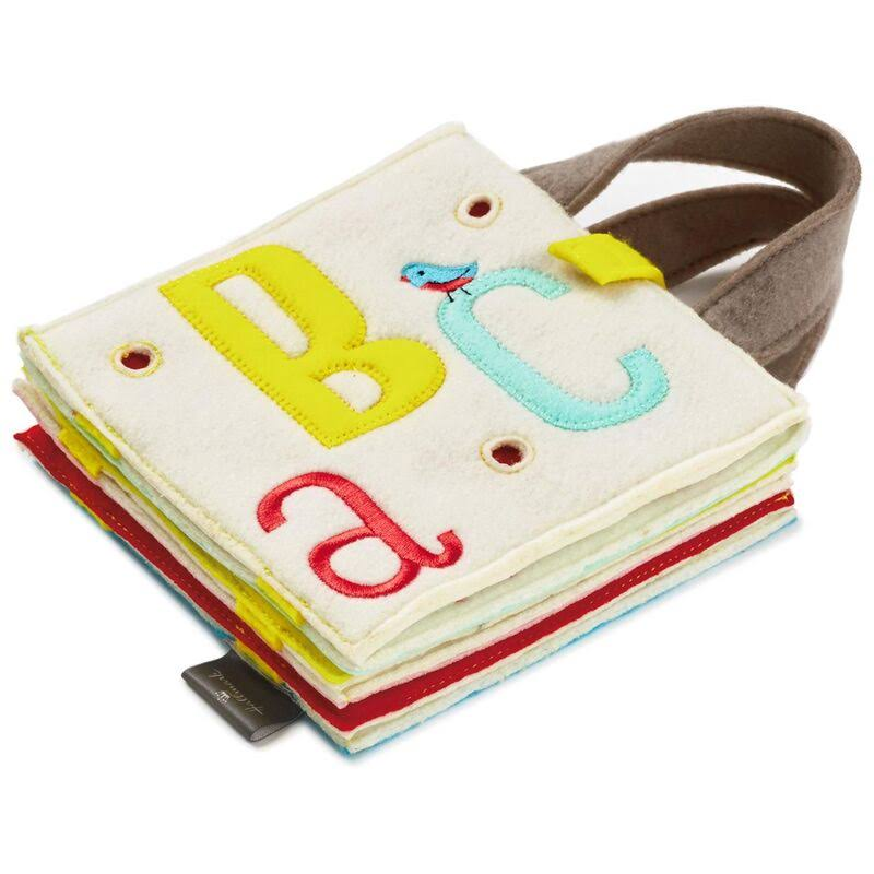 Hallmark ABC Fabric Soft Book with Handles