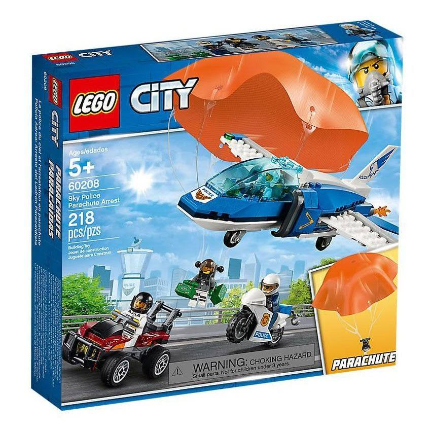 Lego Building Toy, City, Sky Police Parachute Arrest