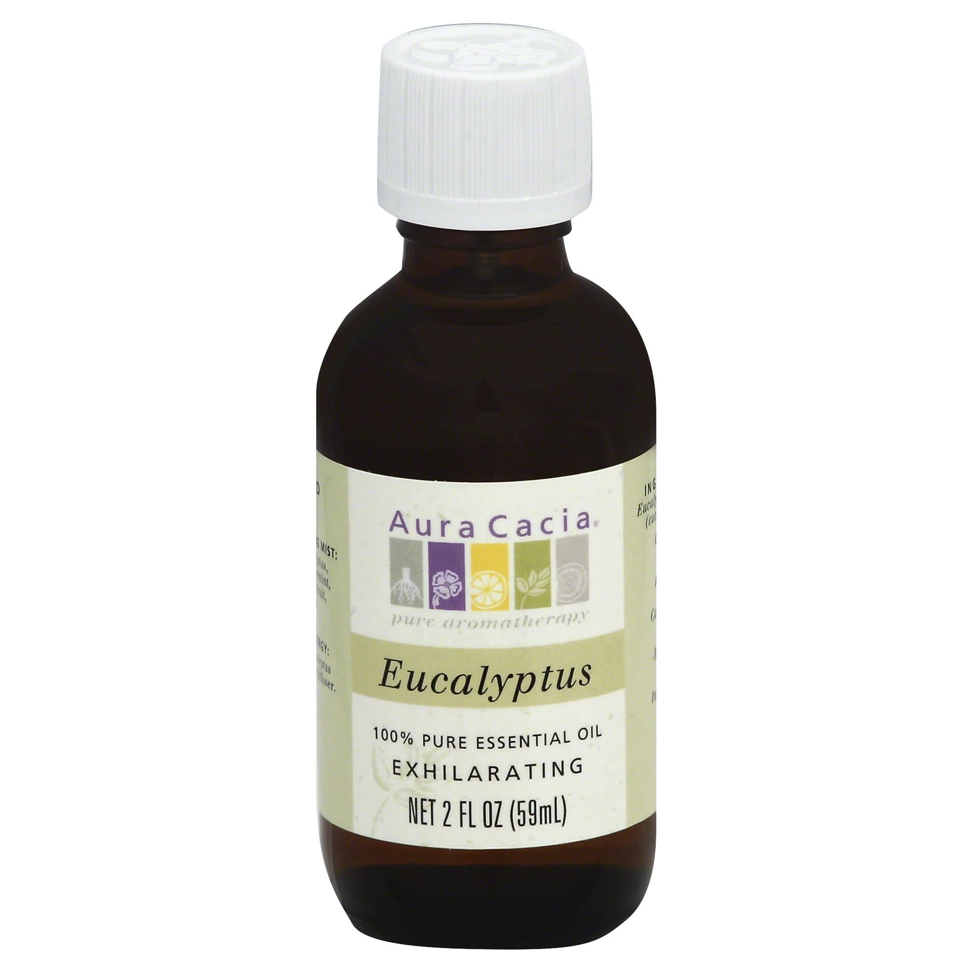 Aura Cacia Essential Oil - Eucalyptus, 59ml