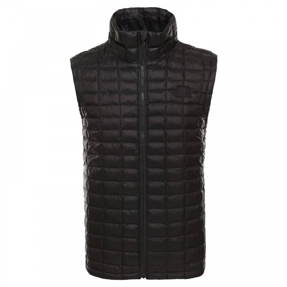 The North Face Men's Thermoball Eco Insulated Vest - Black Matte, Large