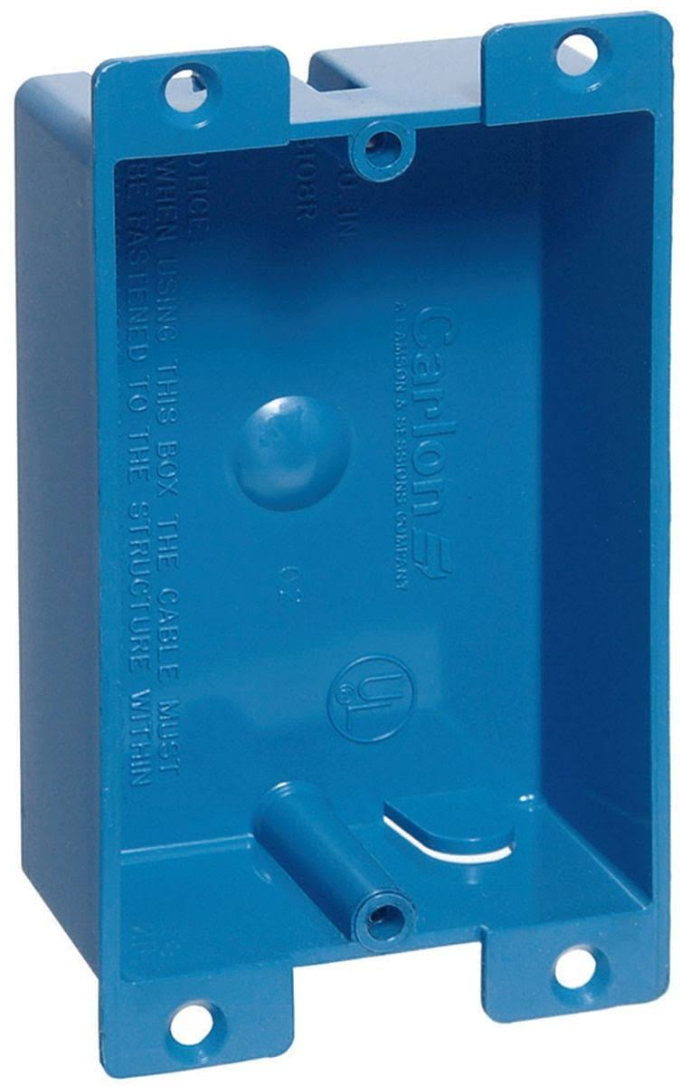 Lamson Home Products Old Work Shallow Box - 1 Gang