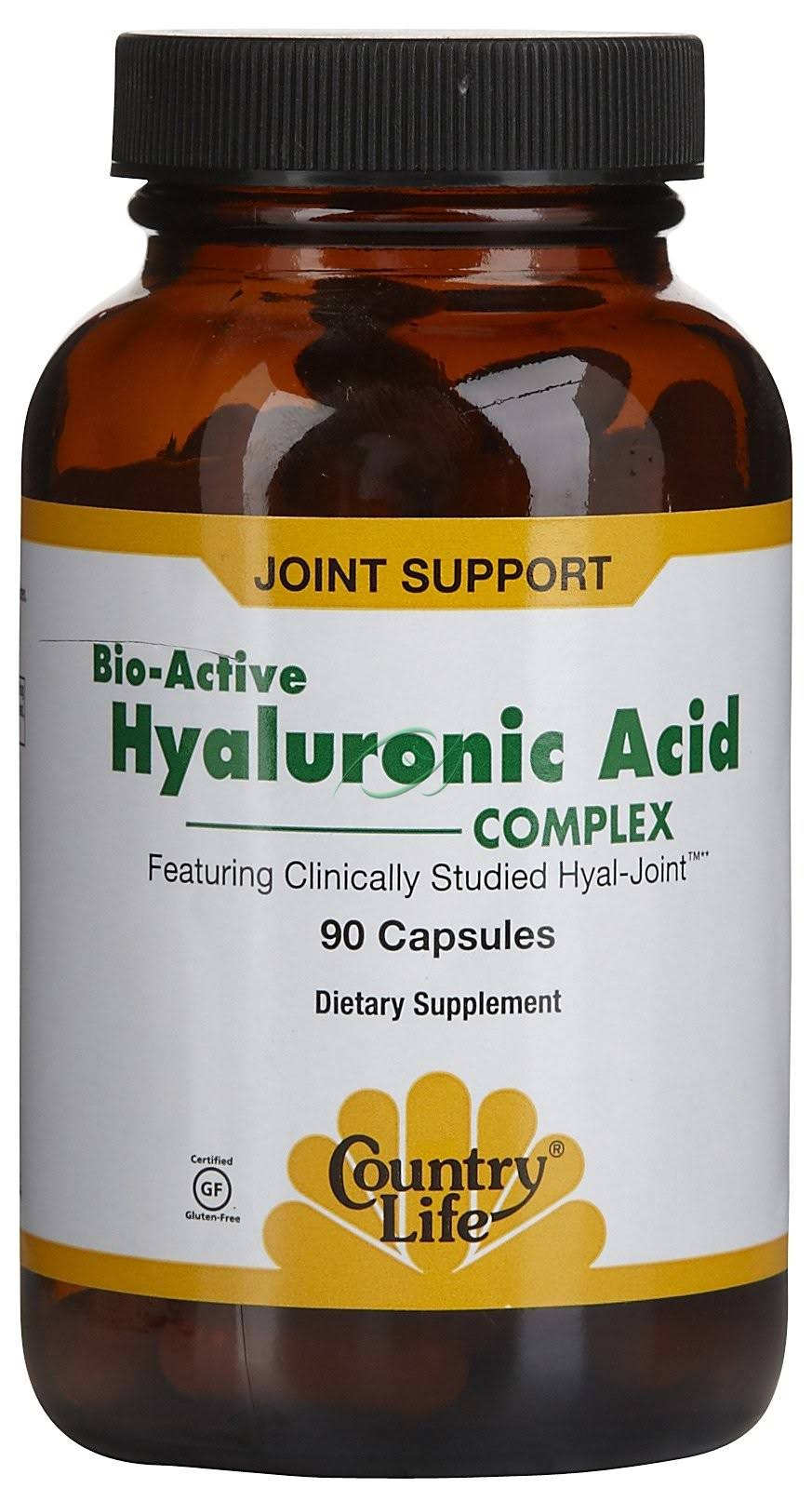 Country Life Bio-Active Hyaluronic Acid Complex Capsules - x90