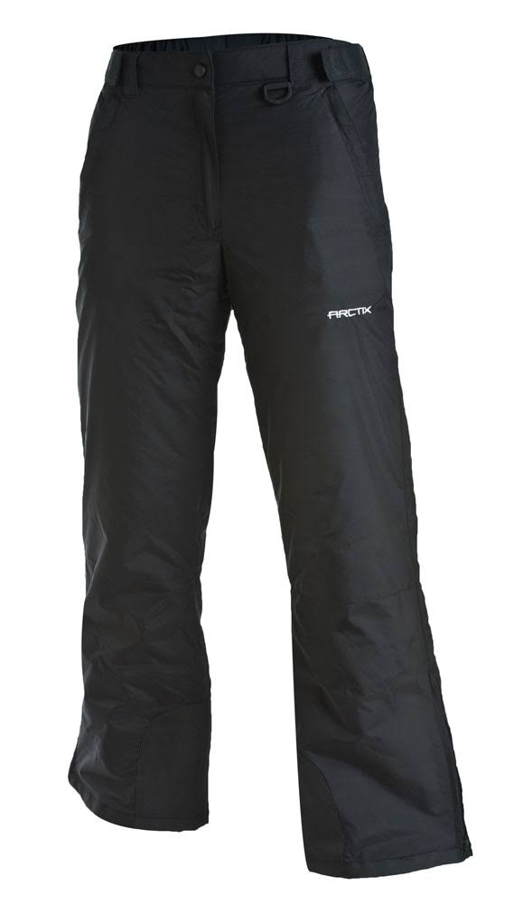 Arctix Women's Insulated Snow Pant - Black, Medium