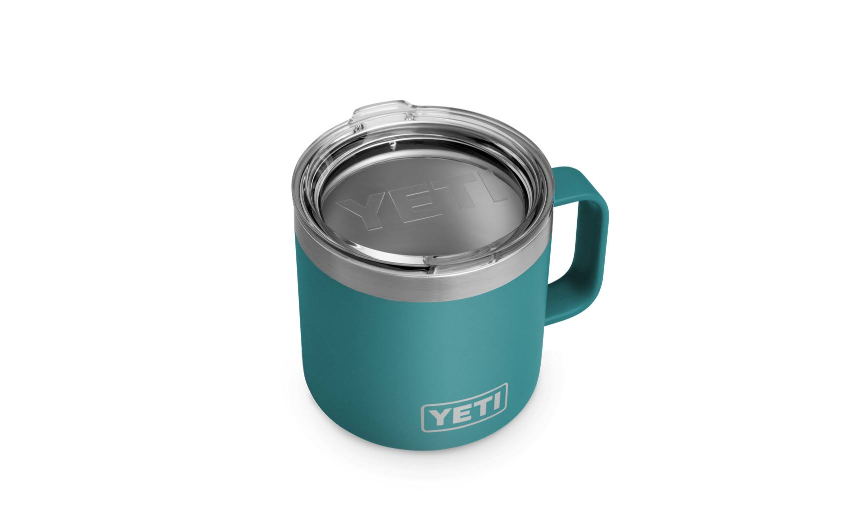 Yeti Rambler 14 oz Mug - River Green