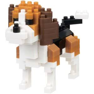 Kawada Dog Breed Nano Block - Beagle NBC_253