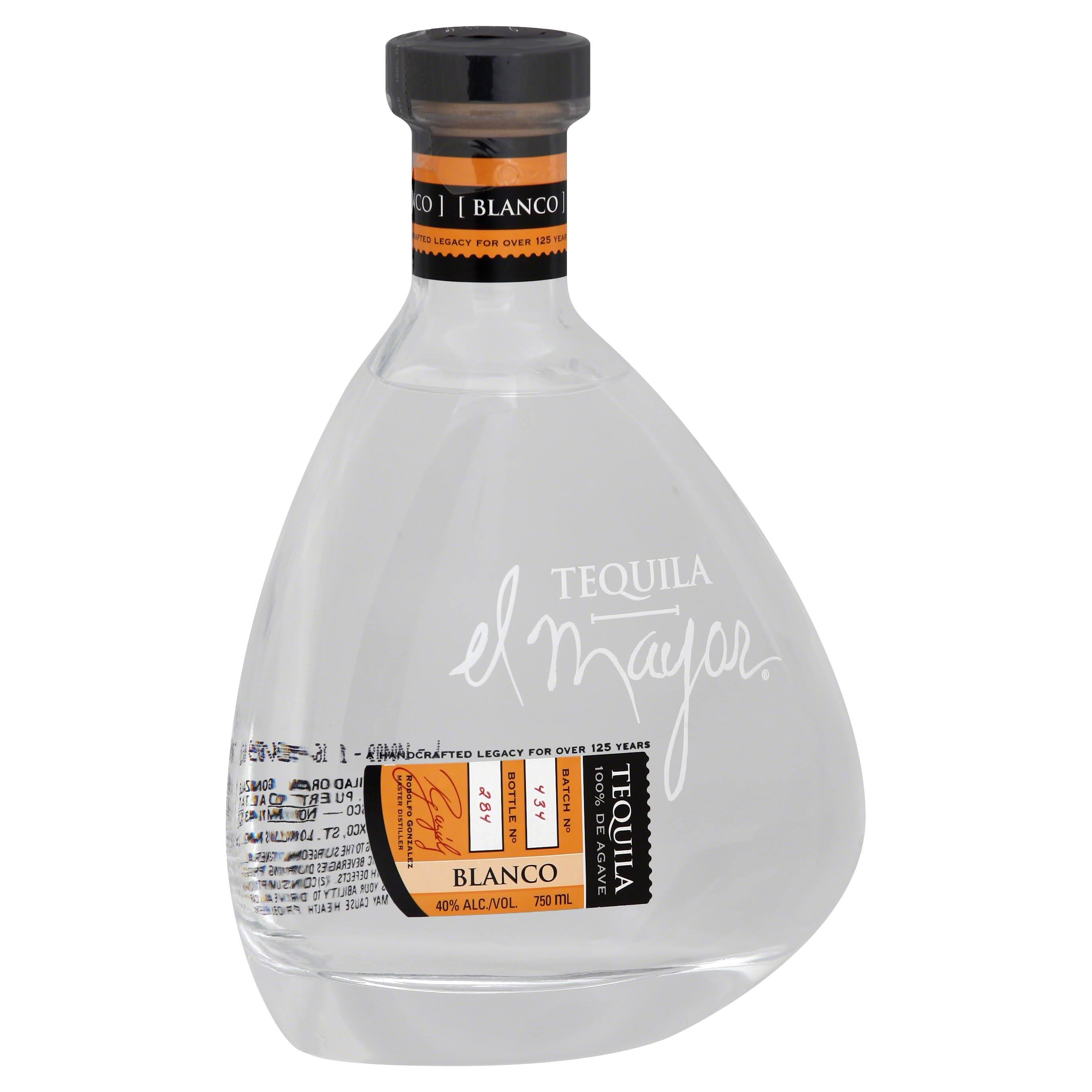 El Mayor Tequila, Blanco - 750 ml