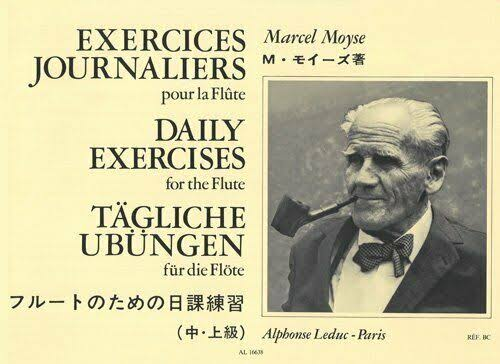 Moyse EXERCICES Journaliers Mose M Flute Solo