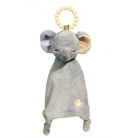 Douglas Cuddle Toys Elephant Teether Plush Toy
