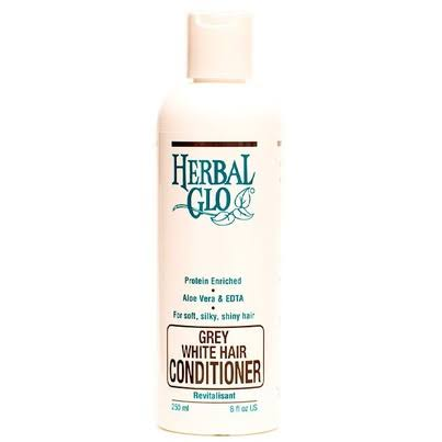 Herbal Glo Grey White Hair Conditioner - 8oz