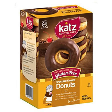 Katz Gluten Free Chocolate Frosted Donuts - 11.5oz
