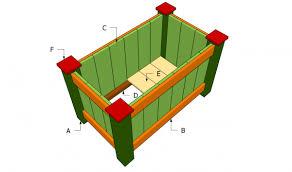deck planter plans myoutdoorplans free woodworking plans and
