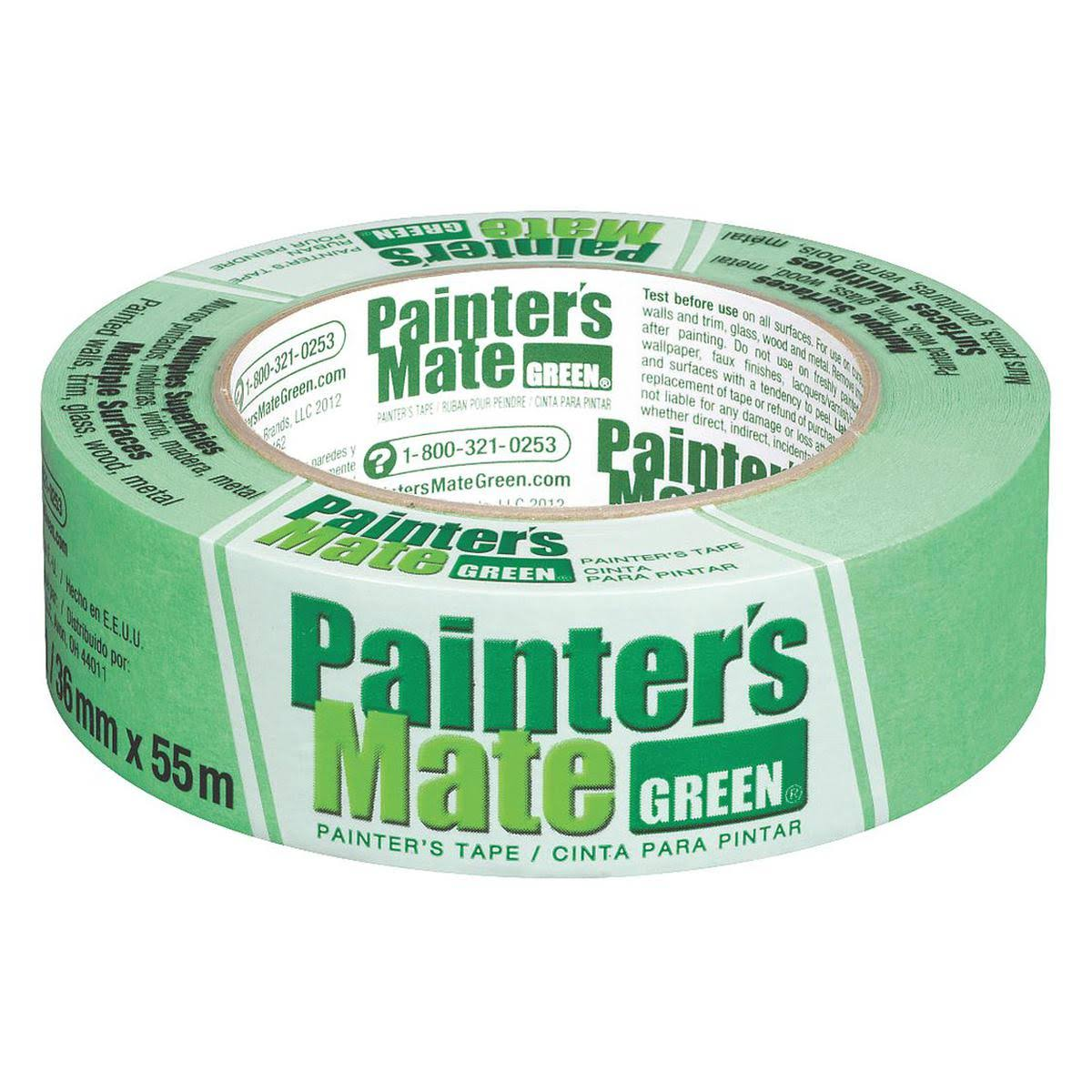 "Painter's Mate Green Masking Tape - 1.41"" x 60yds"