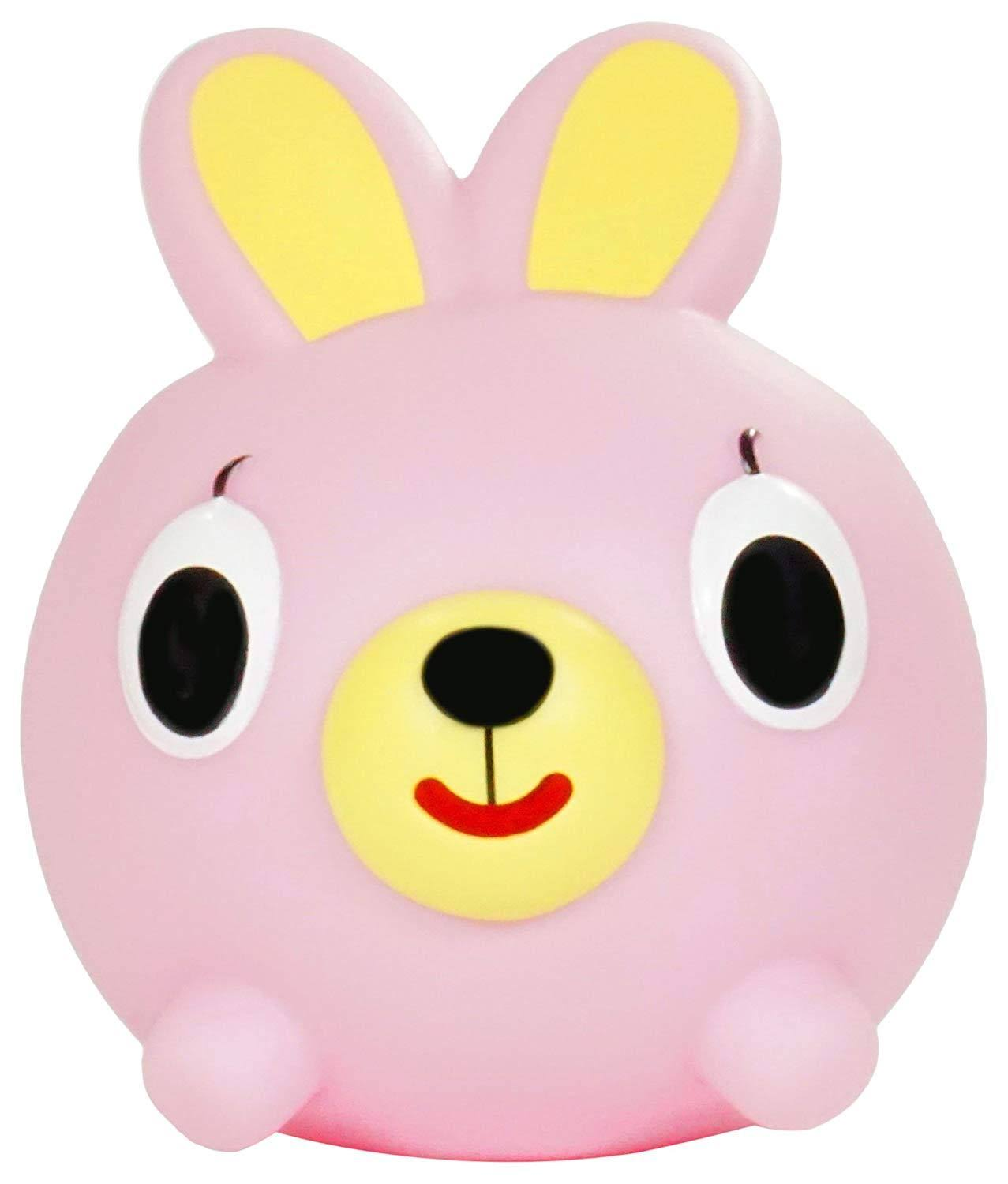 Jabber Ball Bunny Squeak Toy Figure - Pink