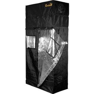 Gorilla Grow Tent GGT24 Indoor Hydroponic Greenhouse Garden Room - Black, 2'x4'x6'/11'