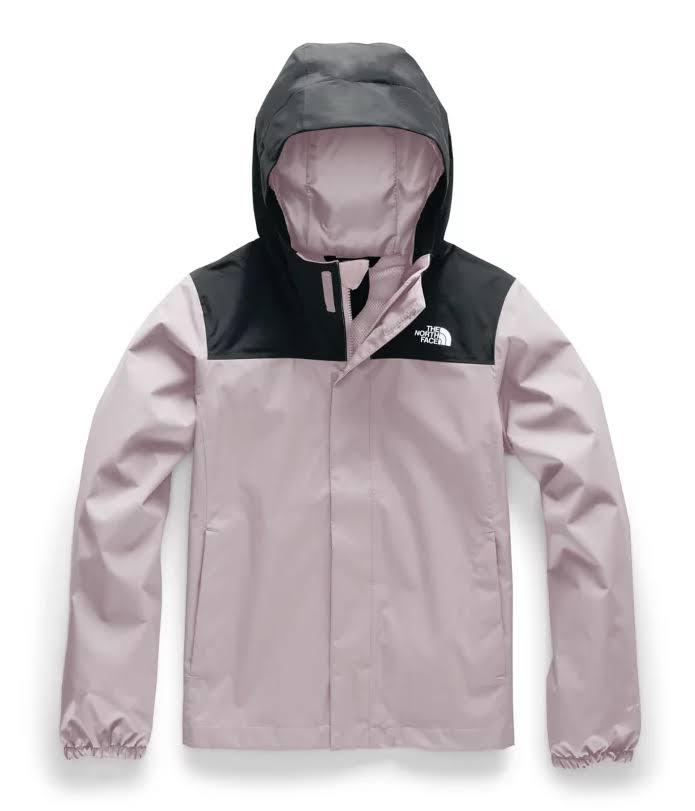 The North Face Girls' Resolve Reflective Jacket - XL - Ashen Purple