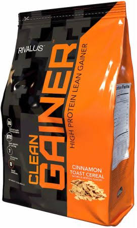 Rivalus Clean Gainer - 12lbs Cinnamon Toast Cereal