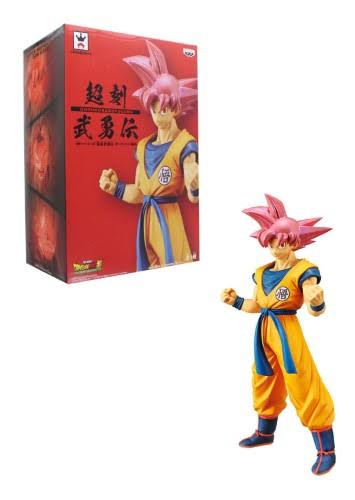 Dragon Ball Super Movie Cyokoku Buyuden Banpresto Figure - Super Saiyan God Son Goku