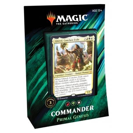 Magic The Gathering: Commander 2019 Deck (Variant: Primal Genesis)