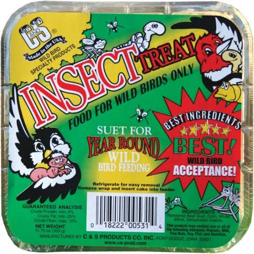 Cands Products CS12531 Insect Treat Suet - 11.75oz