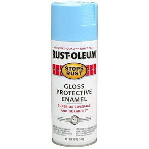 Rust-Oleum Stops Rust Gloss Protective Enamel Spray Paint - Harbor Blue, 12oz