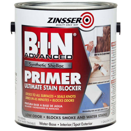 Zinsser B-I-N Advanced Synthetic Shellac Primer - 1 Gallon