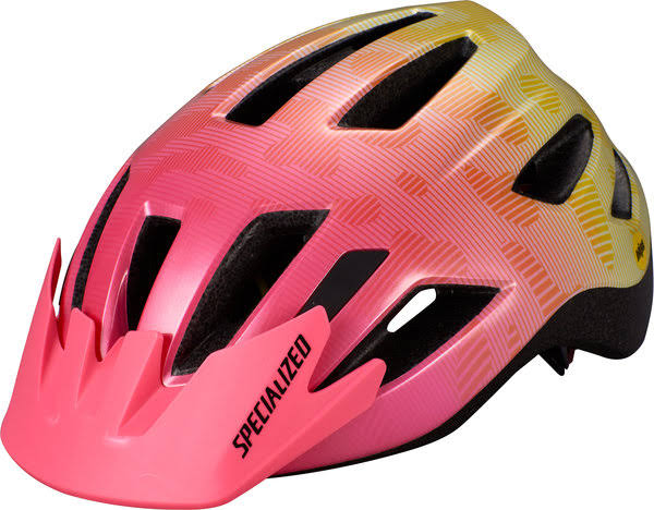 Specialized Shuffle Youth LED Helmet - Acid Pink Slime