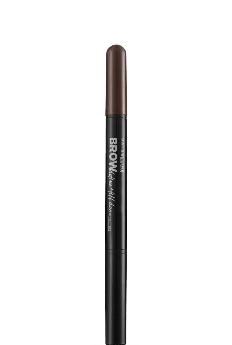 Maybelline Brow Satin Eyebrow Pencil Duo - Dark Brown