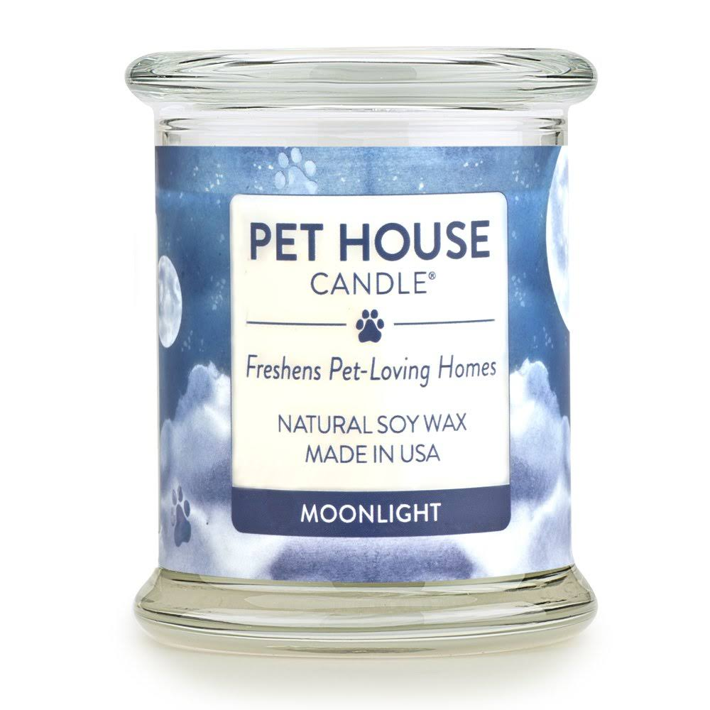One Fur All - 100% Natural Soy Wax Candle, 20 Fragrances - Pet Odor Eliminator, Up to 60 Hours Burn Time, Non-Toxic, Eco-Friendly Reusable Glass Jar
