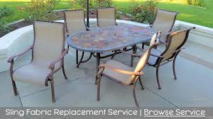 Replace Patio Sling Chair Fabric by Cfr Patio Inc The Patio Furniture Repair U0026 Restoration Experts
